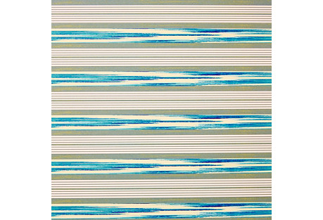 S/10 Mark D. Sikes Gift Wrap, Stripes