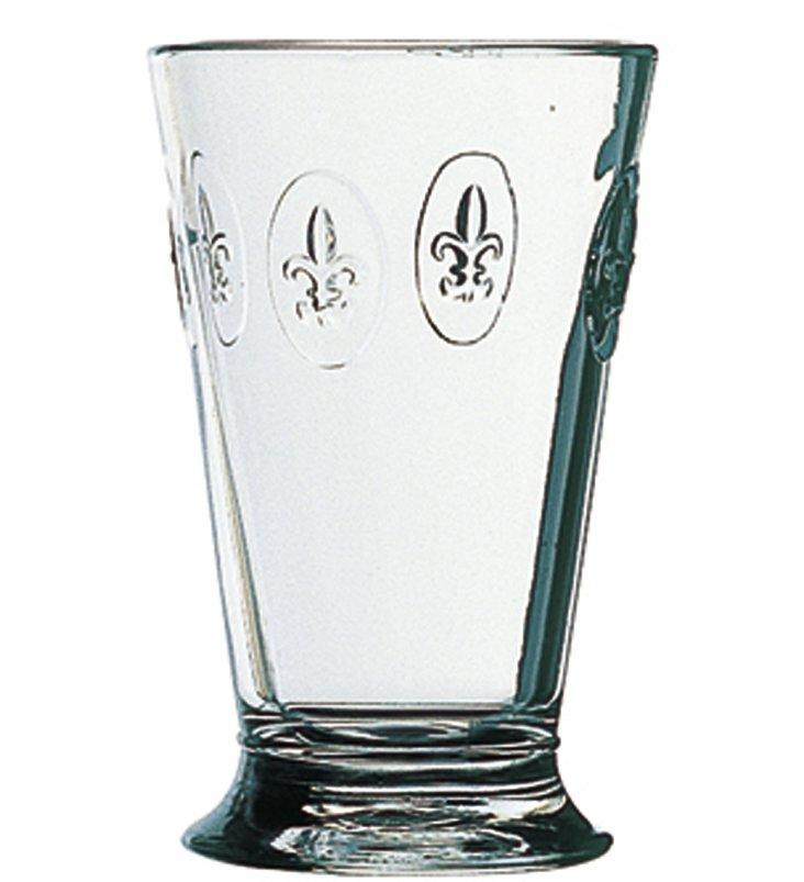 S/6 La Rochère Fleur-de-Lis Glasses