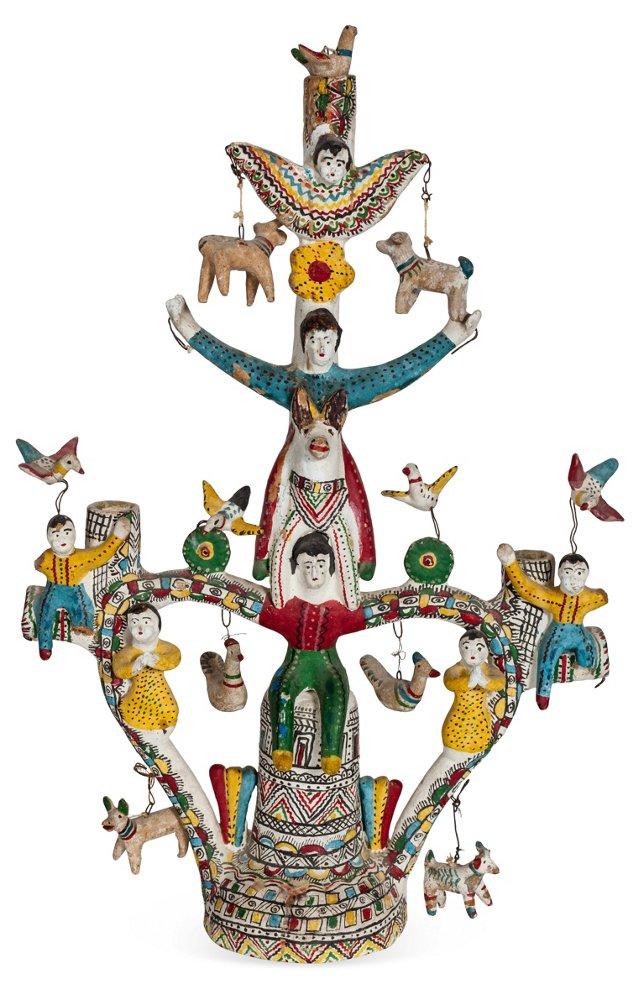 Folk Art Family Tree