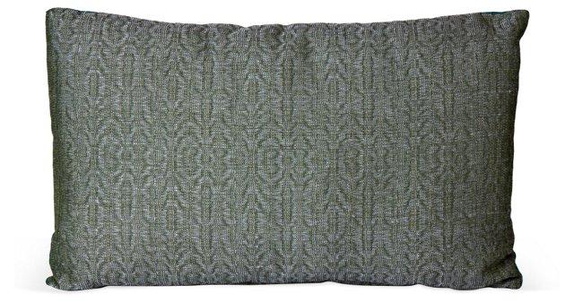 Teal & Gray Cushion
