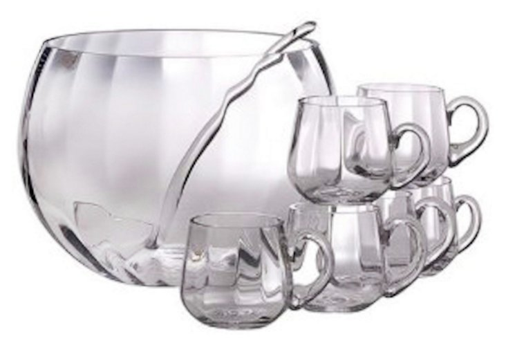 8-Pc Punch Bowl Set