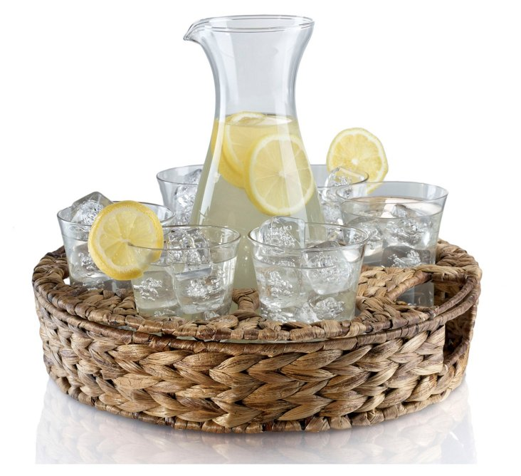 Garden Terrace Beverage Set w/ Tray
