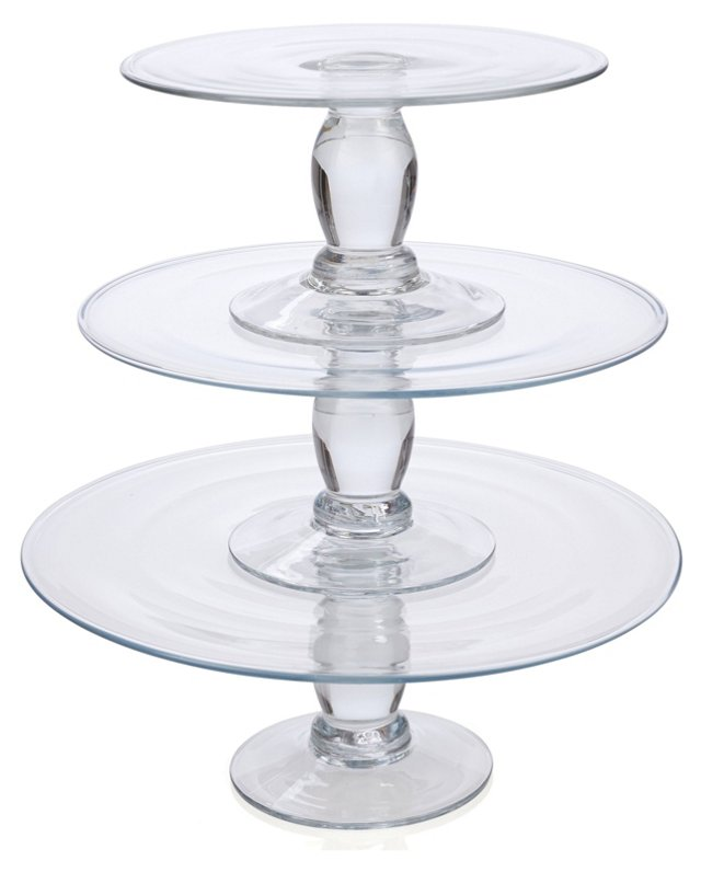 3-Pc Stacking Dessert Stand