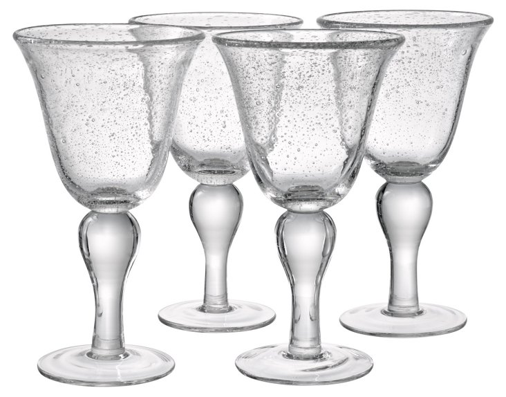 S/4 Iris Water Goblets