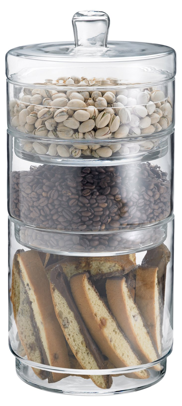 3-Pc Simplicity Storage Jars