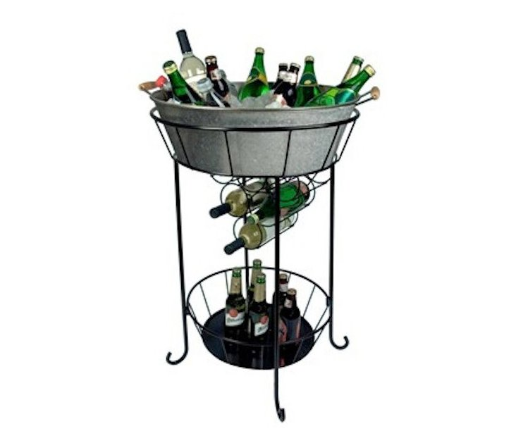Oasis Party Station, Galvanized Silver