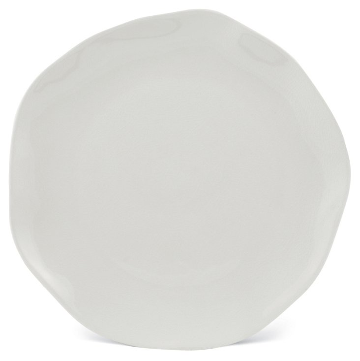 Stoneware Charger, White