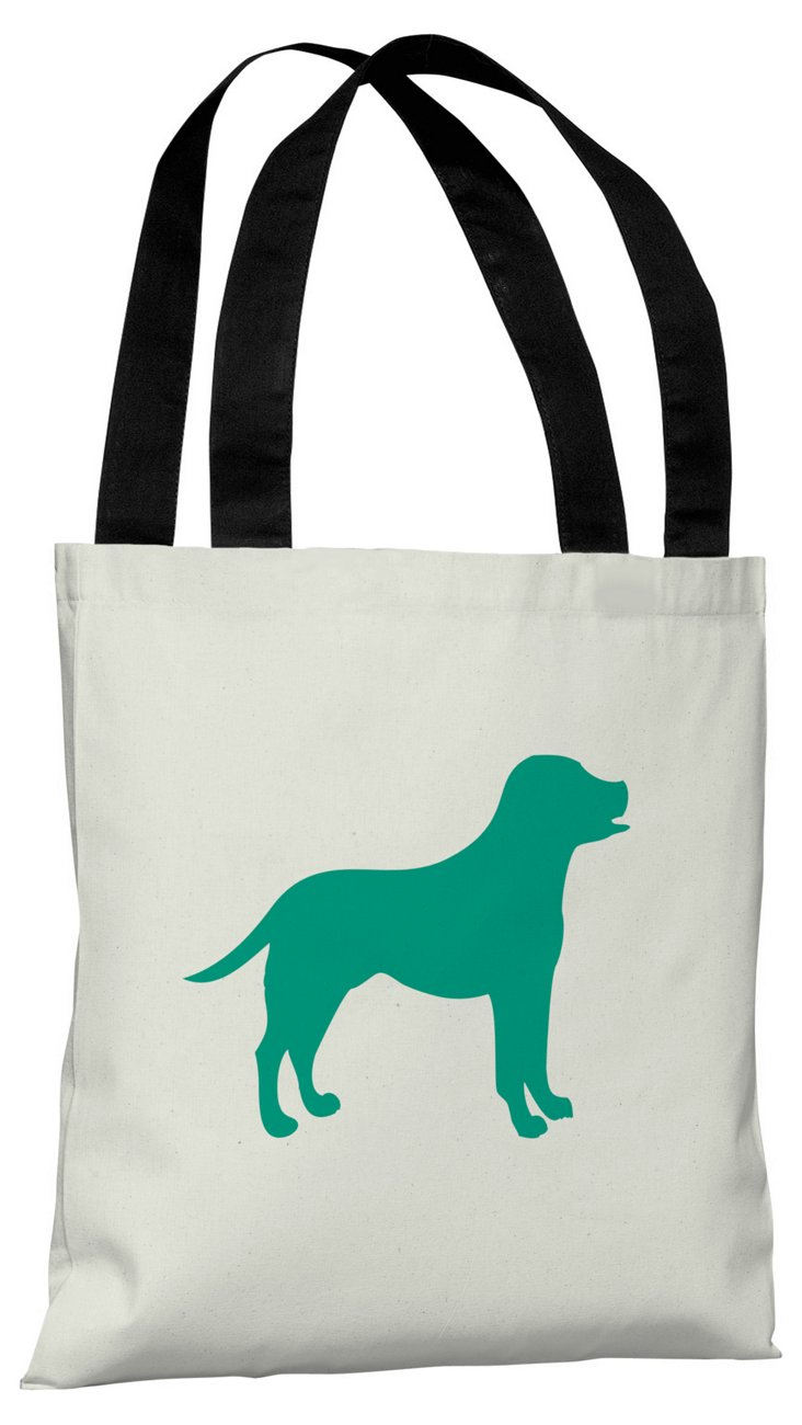 Lab Silhouette  Bag, Emerald