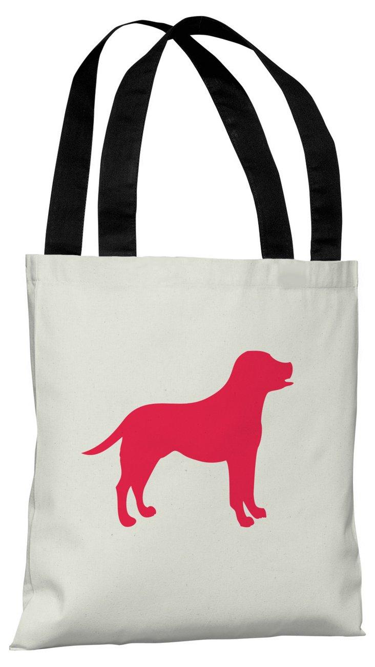 Lab Silhouette  Bag, Red