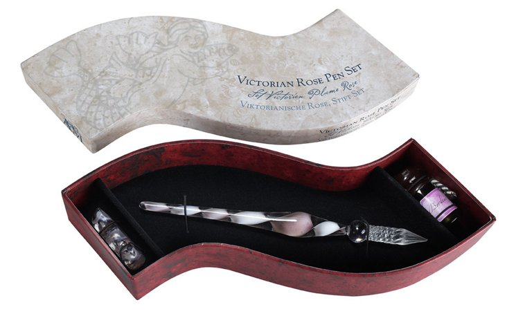 Victorian Rose Pen Set
