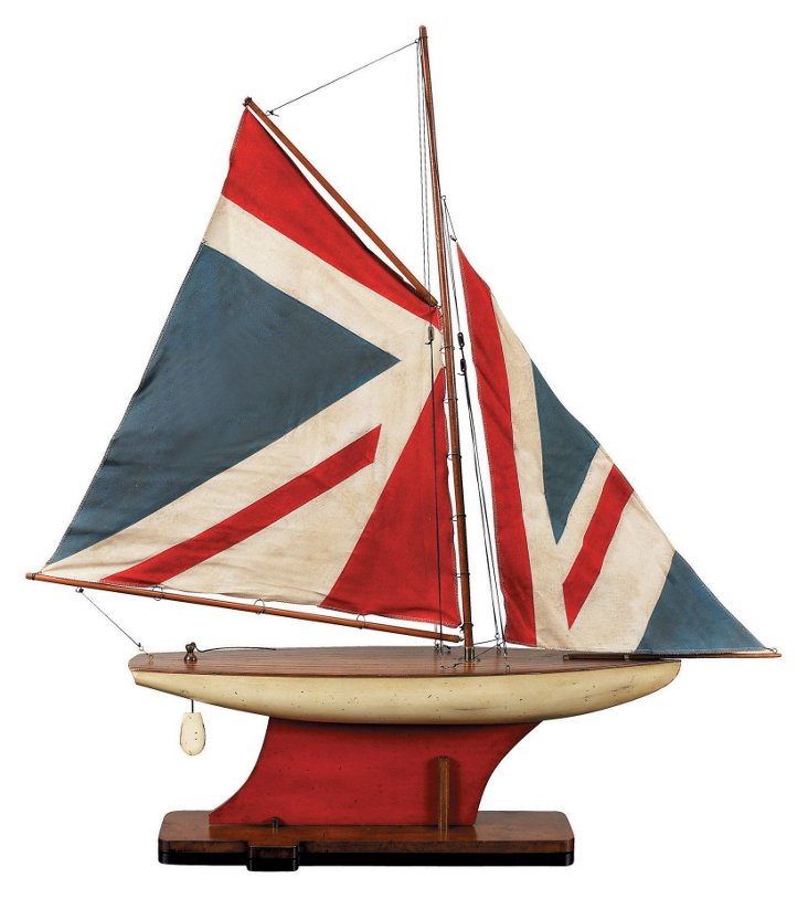 Union Jack Pond Sailboat, Multi