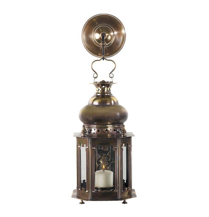 "14"" Venetian Lantern, Bronze"