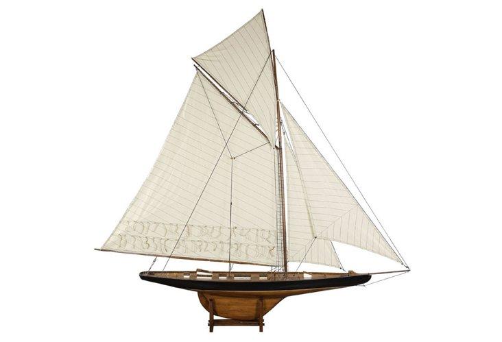 "68"" Columbia Sailboat Model"