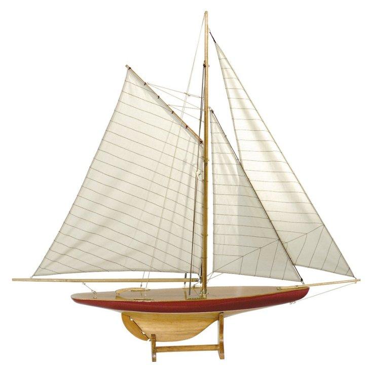 Sailboat Model Defender, 1895