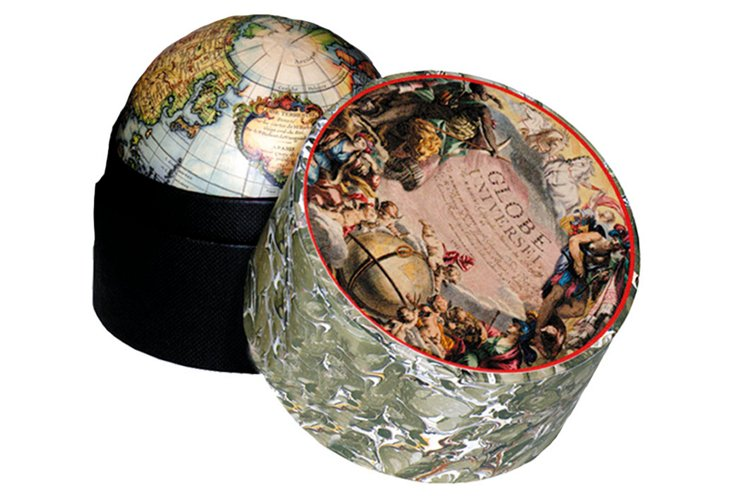 1745 Vaugondy Globe In A Box, Small