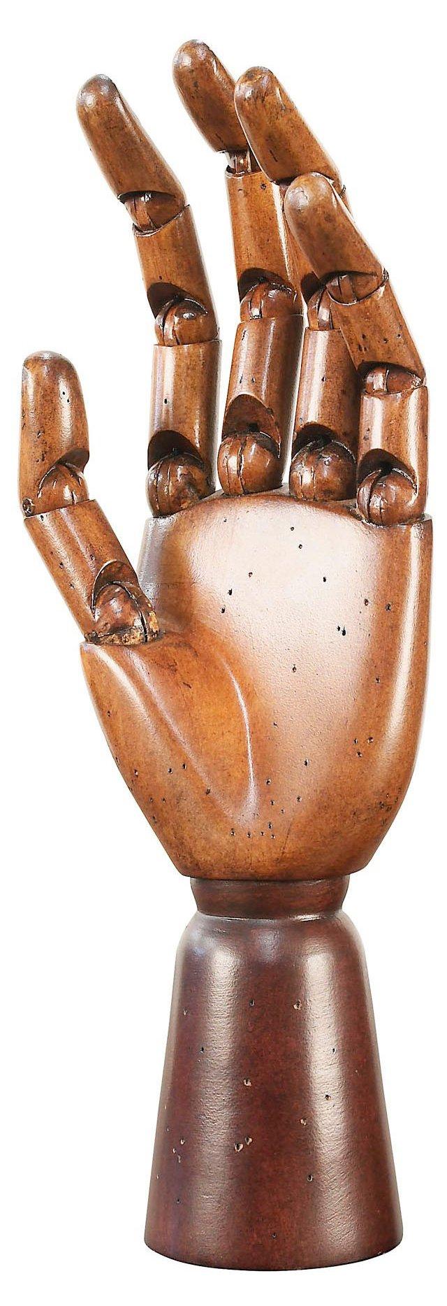 "10"" Art Hand Model, Brown"