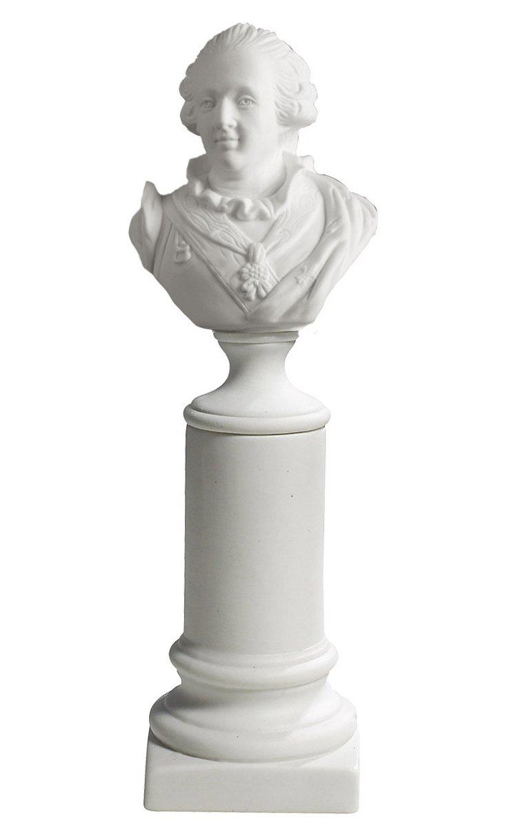 "10"" Louis XV Bust"