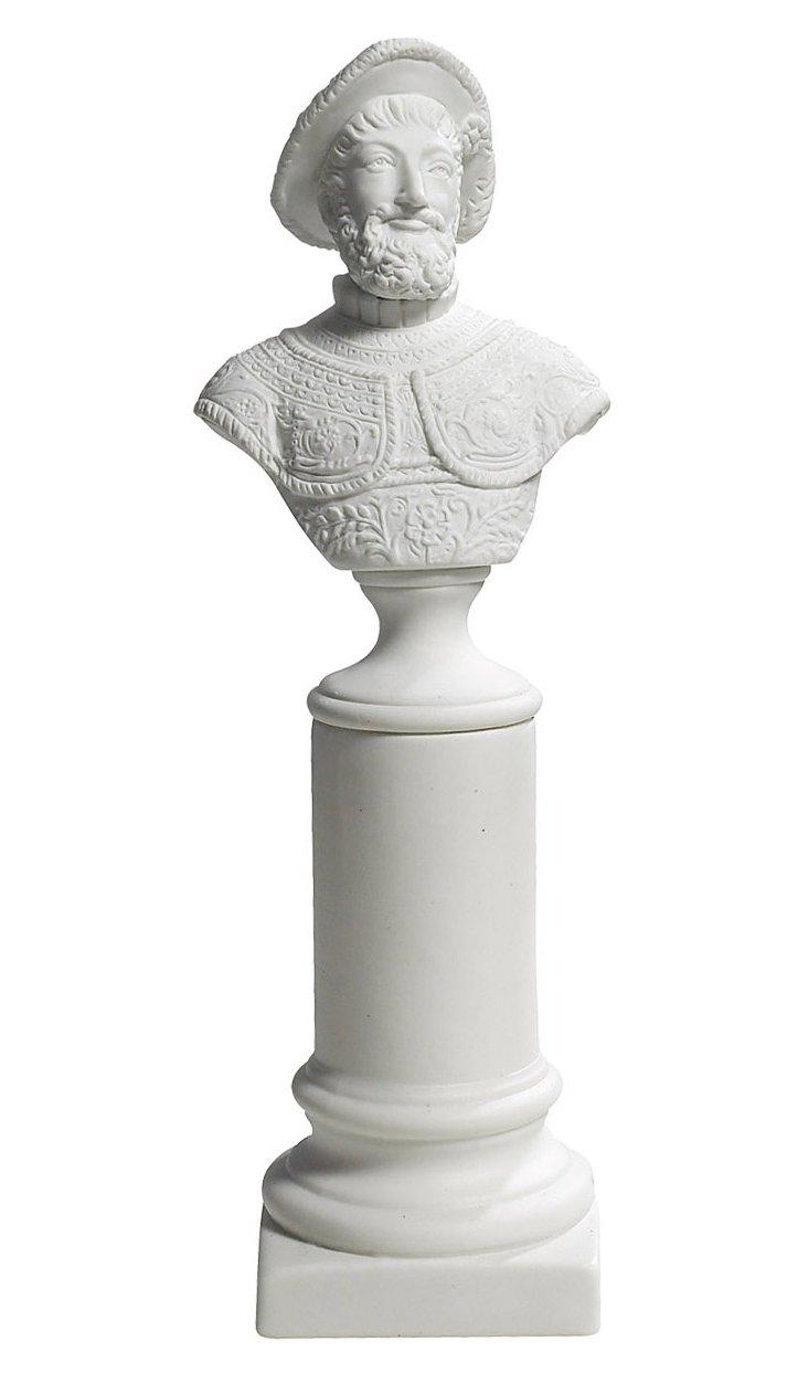 "10"" Henry IV Bust"
