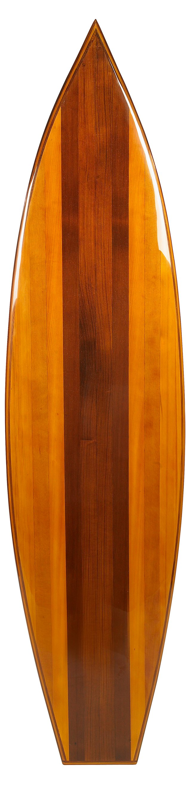"77"" Waikiki Surfboard, Brown"
