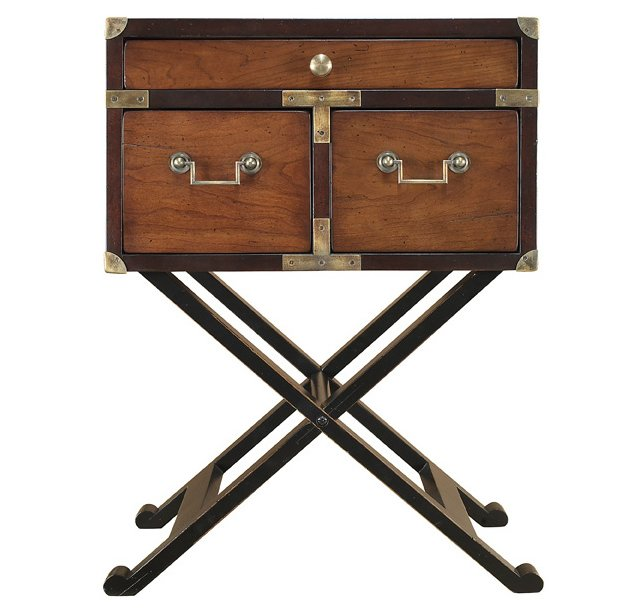 Wallace Campaign Table, Chestnut