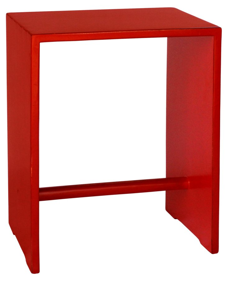 Osaka Side Table, Red