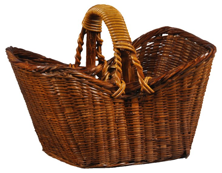 Decorative Picnic Basket