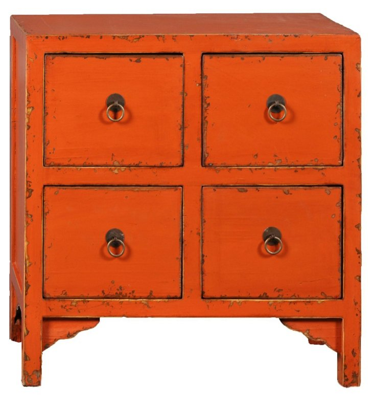 Nara 4-Drawer Accent Cabinet