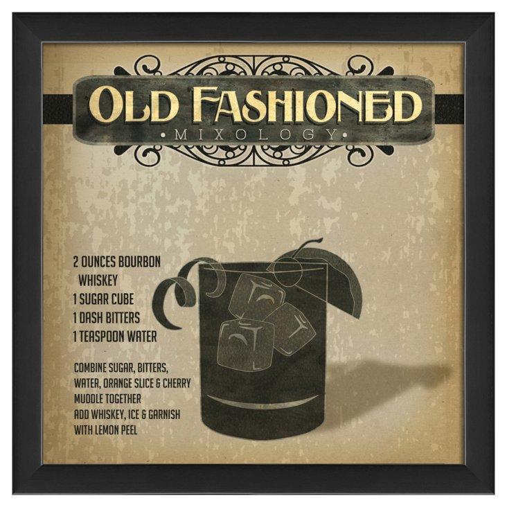 Old Fashioned Mixology
