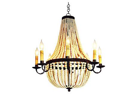 Warwick 8-Light Chandelier, Gold