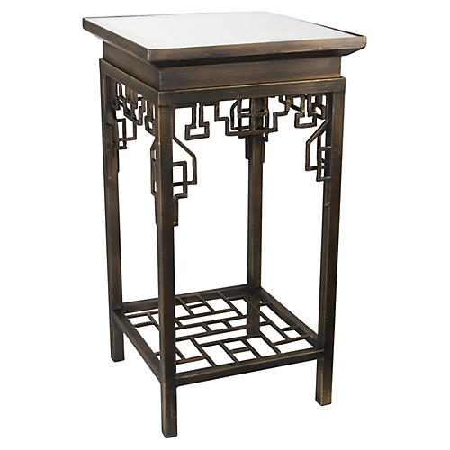 Pachai Mirrored Side Table