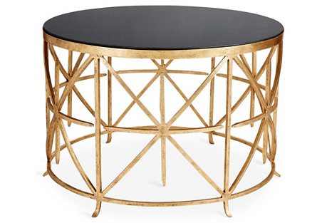 Rory Coffee Table, Gold