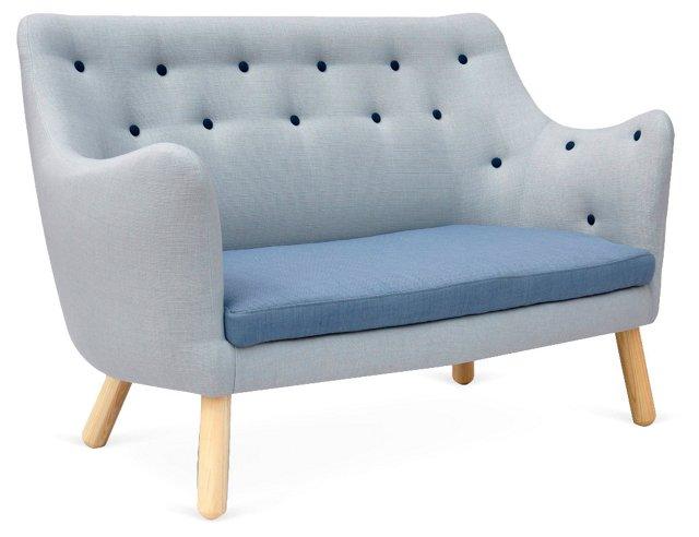 Suess Sofa, Light Blue