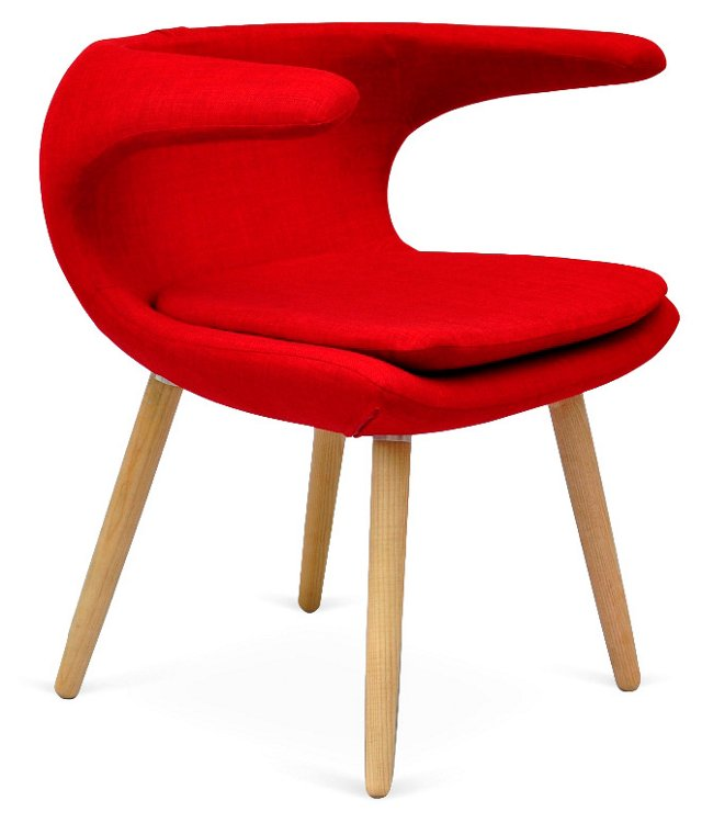 Falcon Chair, Red