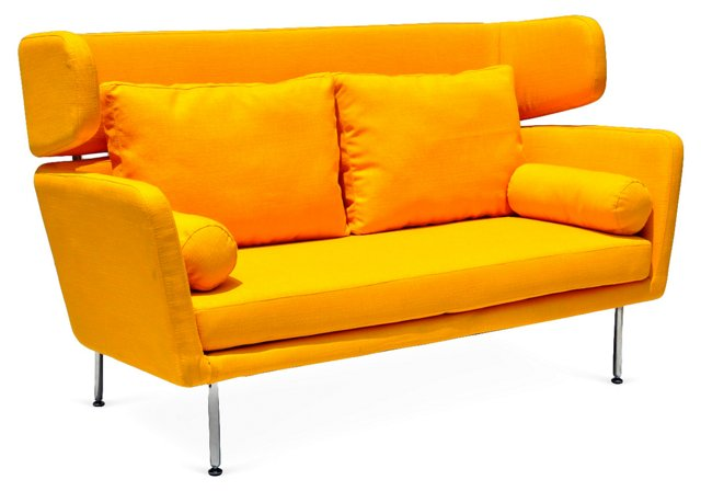 DNU, D-Suze Sofa, Yellow