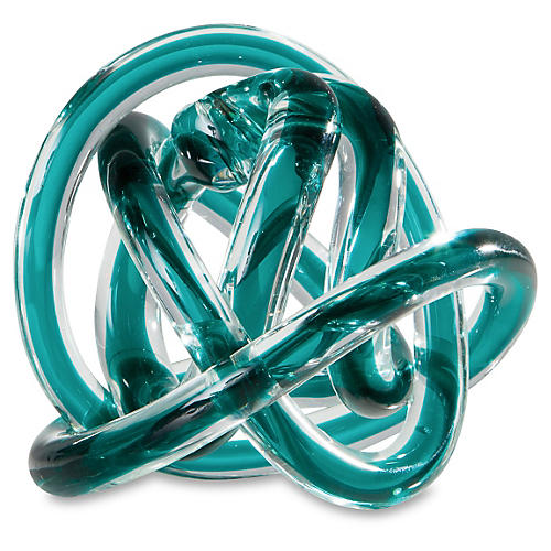 Orbit Glass, Teal