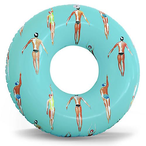 Stinson Pool Float, Turquoise/Multi