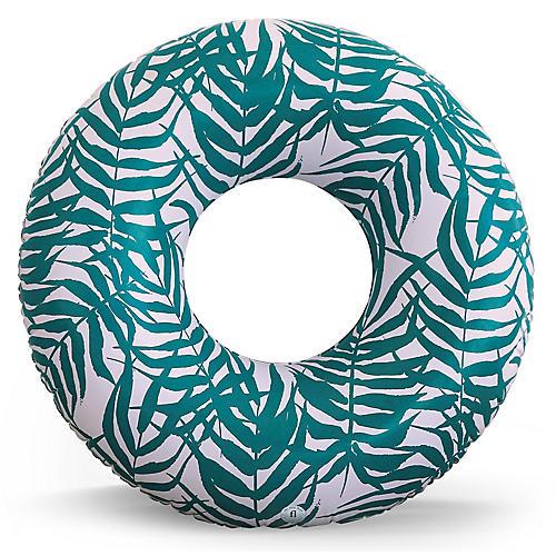 Bahia Pool Float, Green/White