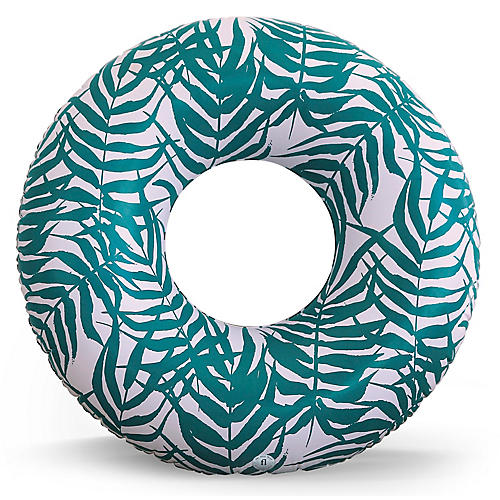 Bahia Pool Float, Green/White