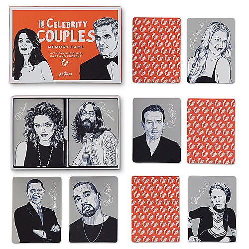 The Celebrity Couples Memory Game, Red