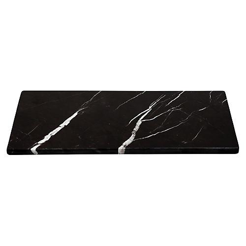Marble Serving Board, Black