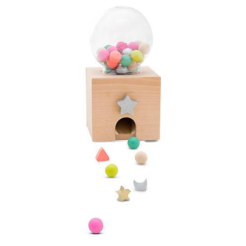 Kids' Gumball Toy Set, Tan/Multi