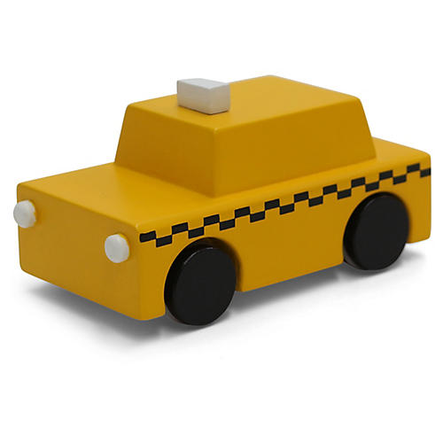 Kids' Taxi Toy, Yellow
