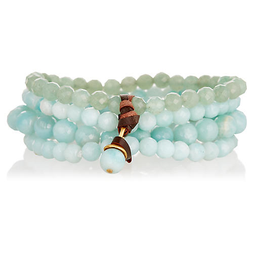 Sally Bracelet, Light Green