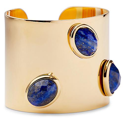 Lapis Lazuli Cuff, Blue