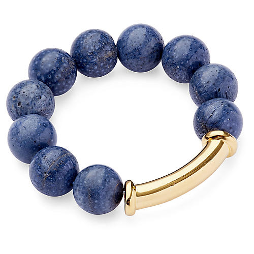 Sponge Coral Stretch Bracelet