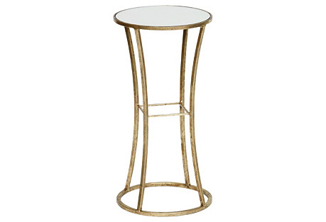 Chandler Side Table, Gold