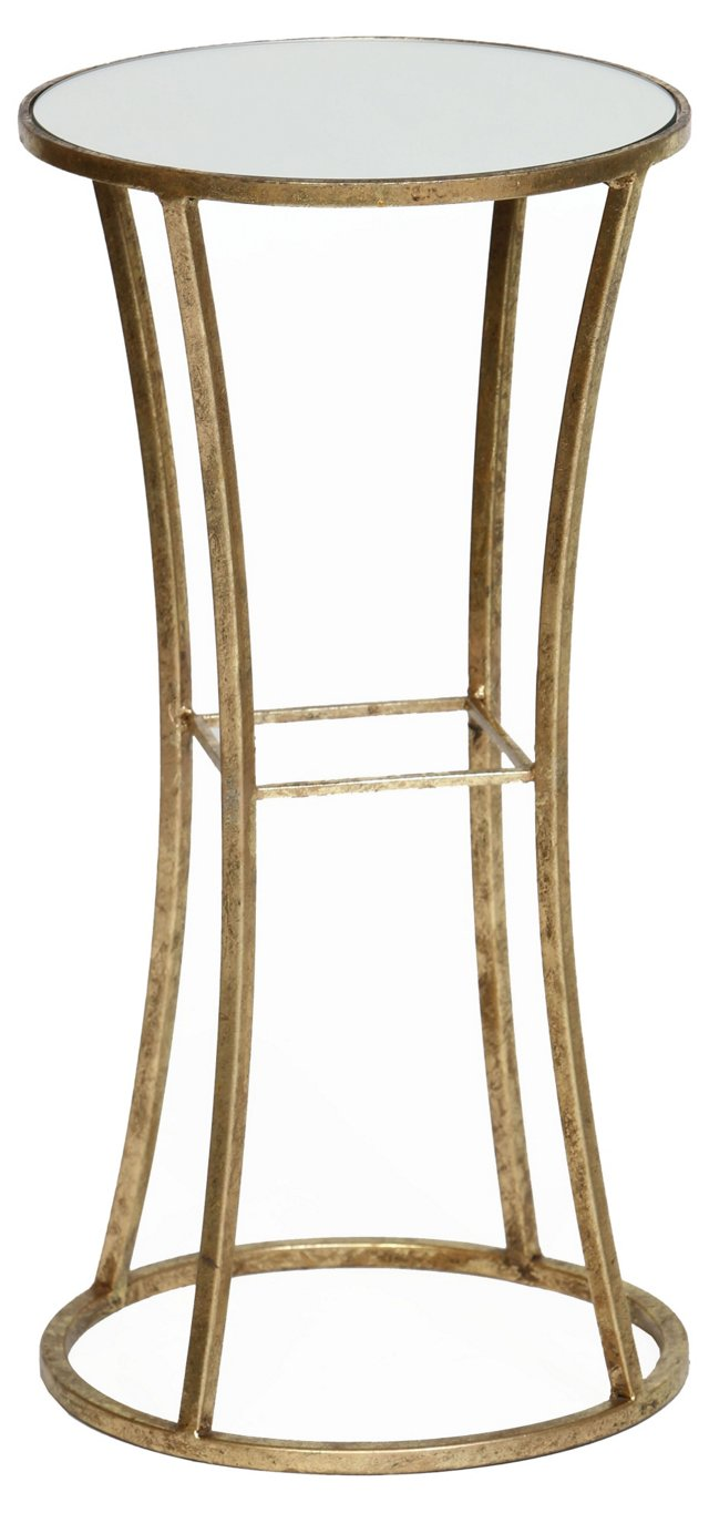 Channing Side Table, Gold