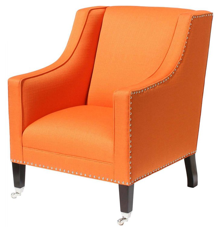 St. Tropez Chair, Tangerine