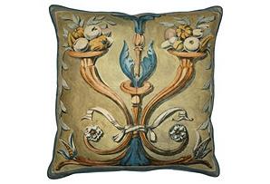Barclay Butera Fruit Cornucopial Pillow