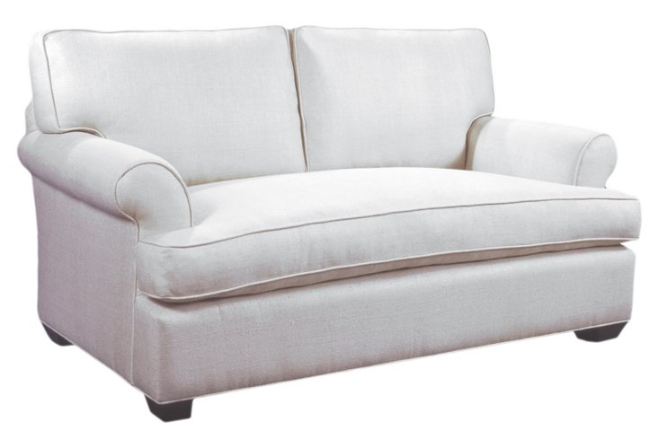 Hampton Linen Sofa, Oyster